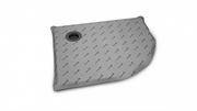 Полукруглые асcимметрические душевые плиты с компактным трапом