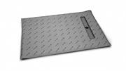 Прямоугольные душевые плиты для укладки толщиной от 5 до 7 мм c линейным трапом вдоль короткой стороны