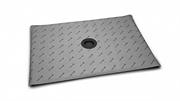 Прямоугольные душевые плиты с компактным трапом