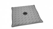Квадратные душевые плиты с компактным трапом