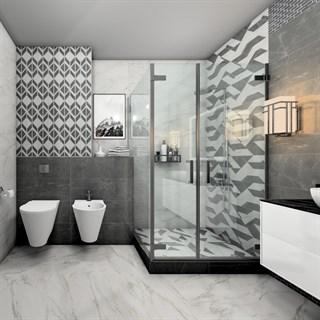 """Проект №10396. Ванная комната в стиле модерн """"Буонарроти"""""""