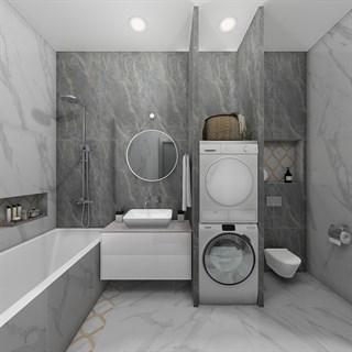 """Проект №232. Ванная комната """"Стремление к прекрасному"""""""