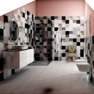 "Проект №238. Ванная комната на мансарде ""Парк Роз"""