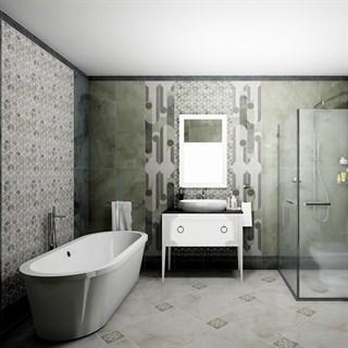 Проект №247. Ванная комната в стиле современная классика