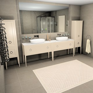 "Проект №689. Ванная комната в неоклассическом стиле ""Безана"""