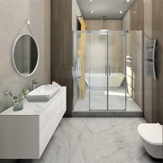 """Проект №986. Ванная комната в таунхаусе """"Ламбро"""""""