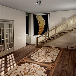 "Проект №750. Холл в загородномдоме ""Гранд Вуд"""