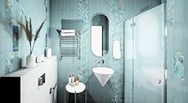 Отличительные черты современного стиля  в пространстве ванной комнаты