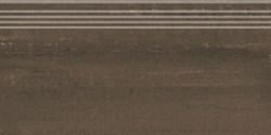 DD201300R/GR Ступень Про Дабл коричневый обрезной 30х60х11 - фото 24681