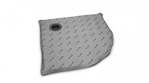 Radaway Душевая плита с компактным трапом 890*890 арт.5AK0909