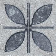 ST09/SG9118 Аллея серый вставка 3,5х3,5
