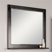 Зеркало Жерона 105 черное серебро