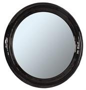 Зеркало Андорра, круглое, 900мм, черное