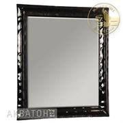 Зеркало Модена, 850*750мм, черное