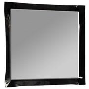 Зеркало Палермо, 850*900мм, черное