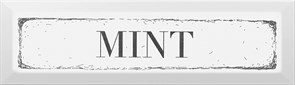 NT/B38/2882 Декор Mint чёрный 8,5х28,5