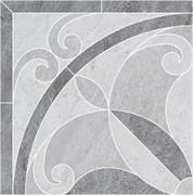 ID50 Декор Монтаньоне 1/4 розона наборный 42х42х9