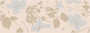 MLD/B67/15084 Декор Вилланелла Цветы беж 15х40х8