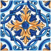 STG/A458/5232 Декор Капри майолика 20х20х6,9