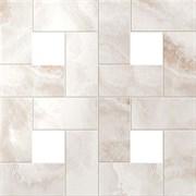 S.O. Pure White Mosaic Lap / С.О. Пьюр Вайт Мозаика Лаппато 45x45 610110000085