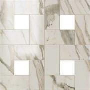 S.M. Calacatta Gold Mosaic Lap / С.М. Калакатта Голд Мозаика Лаппато 45x45 610110000063