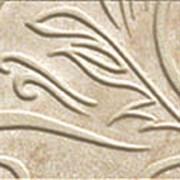 Unica Beige Bottone Leaf / Уника Беж Вставка Лиф Лаппато 7,2x7,2 610090000579