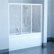 шторки для ванн AVDP3-170 белая +