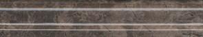 BLD014 Бордюр Мерджеллина коричневый темный 15х3х16