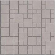SG185/002 Декор Александрия серый мозаичный 30х30х8
