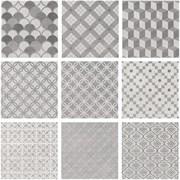 1576TN Карнаби-стрит орнамент серый 20х20х8 (новая упаковка)