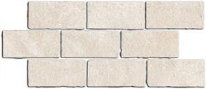 BR022 Бордюр Роверелла беж светлый мозаичный 34,5х14,7х11