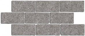 BR025 Бордюр Роверелла пепельный мозаичный 34,5х14,7х11