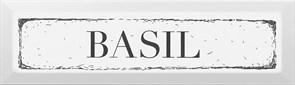 NT/B36/9001 Декор Bazil чёрный 8,5х28,5х9,2