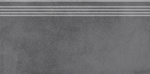SG227600R/GR Ступень Мирабо серый темный обрезной 30х60х9