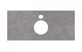 PL1.DL500900R\100 Спец. изделие для накладных раковин 100 см Фондамента серый