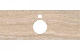 PL1.SG560400R\120 Спец. изделие для накладных раковин 120 см Риальто песочный