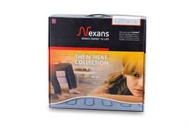 MILLICABLE FLEX 1800/15 комплект тонкого двухжильного нагревательного кабеля с алюминиевым экраном (123.5 п.м.)