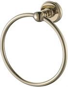 4680 Кольцо Держатель для полотенца Aquanet, золото (189280)