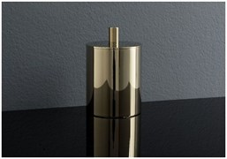 8187-GP Косметическая емкость с крышкой Aquanet, золото (202139)