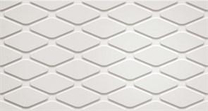 3D White Rhombus Matt/3Д Вайт Ромбус Матт 30,5x56 600010002253