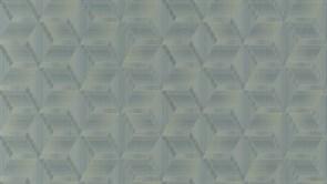 KM5105 Обои виниловые Геометрия синий-золото, мотив 1,06х10 ((1, Т В)
