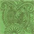 AD/B90/1221T Тантра зеленый 9,9х9,9