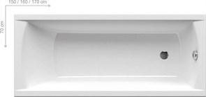 Ванна CLASSIC 170x70 N белая