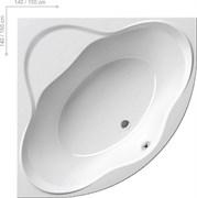 Ванна NEW DAY 150x150 белая