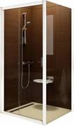 Дверь душевая Ravak BLDP2 - 100 белый + Транспарент