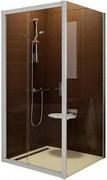 Дверь душевая Ravak BLDP2 - 100 блестящий + Транспарент