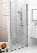 Дверь душевая Ravak CSD1-80 блестящий+стекло Transparent