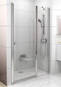 Дверь душевая Ravak CSD2-100  сатин+стекло Transparent