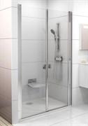 Дверь душевая Ravak CSDL2-110  блестящий+стекло Transparent