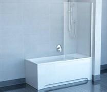 шторки для ванн CVS1-80 R  блестящий+стекло Transparent